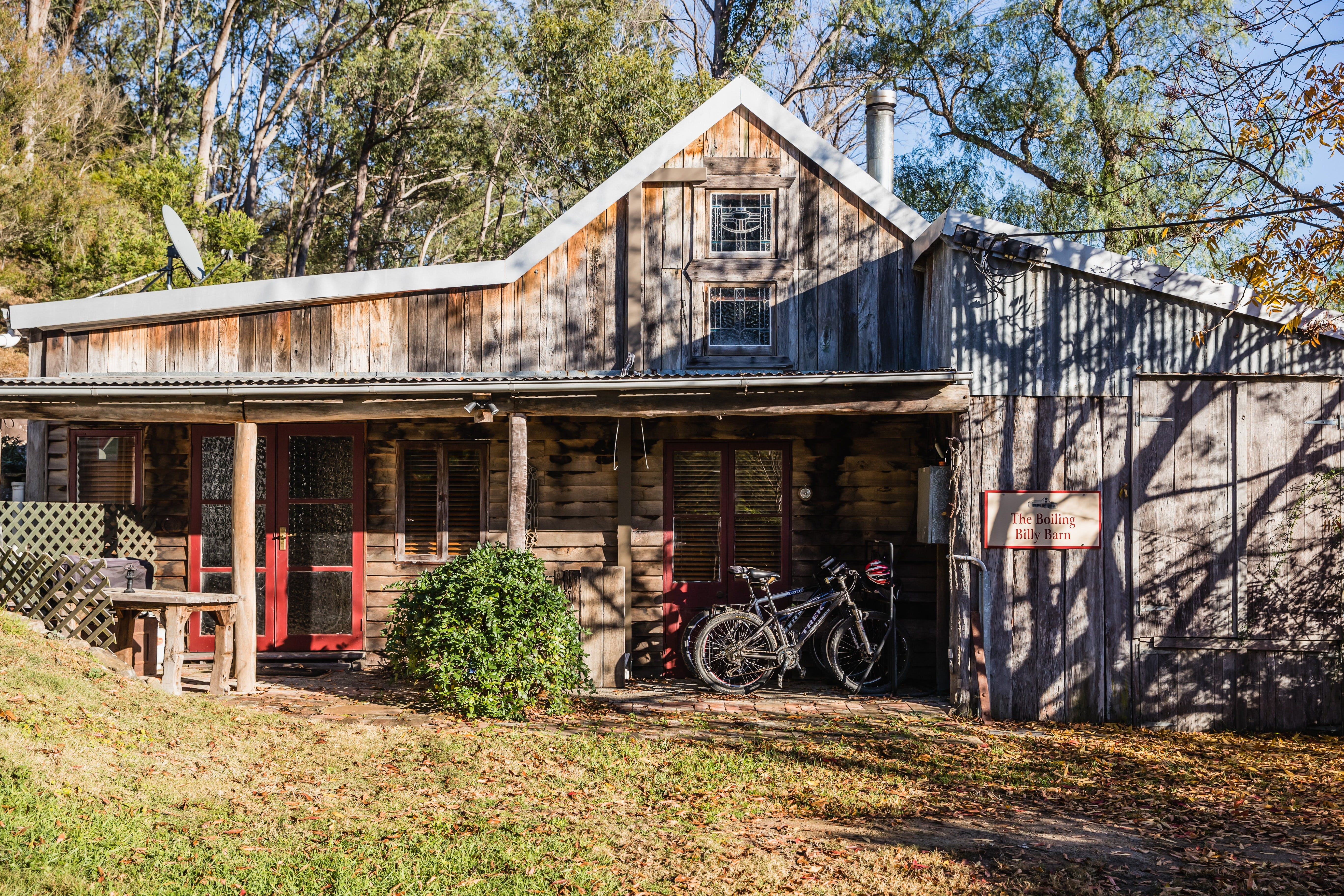 The Boiling Billy Barn - Nambucca Heads Accommodation