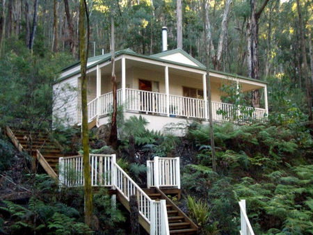 Myers Creek Cascades Luxury Cottages - Nambucca Heads Accommodation