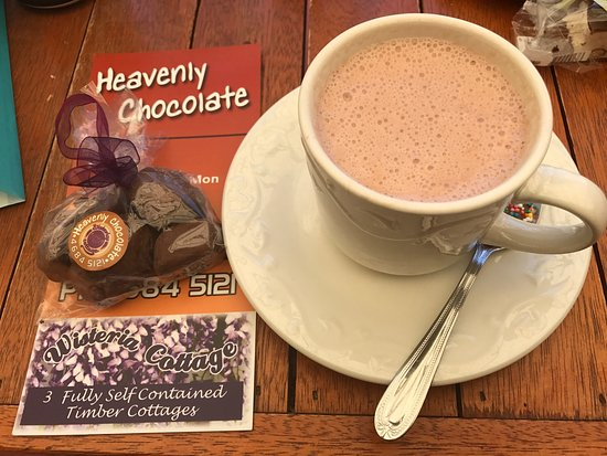 Stanthorpe's Heavenly Chocolate at Wisteria Cottage - Nambucca Heads Accommodation